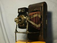 '       NO.1 Model C Folding Pocket Kodak ' Kodak No.1 Pocket Kodak Camera RED Bellows £99.99